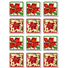 POINSETTIA COASTERS PARTY SUPPLIES