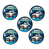 POLICE PARTY STICKER PARTY SUPPLIES