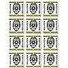 POLICE COASTERS 12/PKG PARTY SUPPLIES