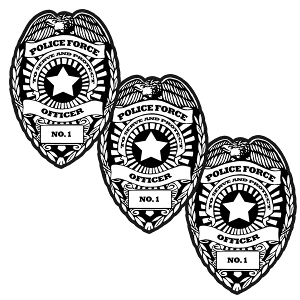 POLICE DECO FETTI PARTY SUPPLIES