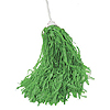 VINYL ROOTER POM-POM GREEN (24/CS) PARTY SUPPLIES