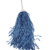 VINYL ROOTER POM-POM LT. BLUE (24/CS) PARTY SUPPLIES