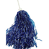 VINYL ROOTER POM-POM ROYAL BLUE (24/CS) PARTY SUPPLIES