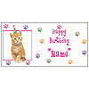 PERSONALIZED KITTY CAT BANNER PARTY SUPPLIES