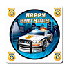 POLICE PARTY COASTER PARTY SUPPLIES