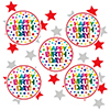 RAINBOW BIRTHDAY DECO FETTI PARTY SUPPLIES