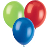 RED, GREEN & ROYALBLUE BALLOONS PARTY SUPPLIES