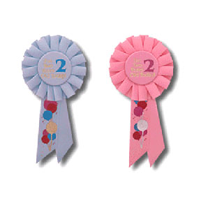 Click For Larger Picture Of IM 2 TODAY ROSETTE PINK PARTY SUPPLIES