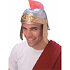 ROMAN HELMET-SILVER & GOLD PARTY SUPPLIES
