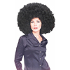 BLACK OVERSIZE AFRO/CLOWN PARTY SUPPLIES