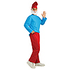 PAPA SMURF ADULT COSTUME PARTY SUPPLIES