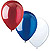 RED WHITE & BLUE LATEX BALLOONS (18CT.) PARTY SUPPLIES