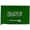 4X6 MUSLIN FLAG- SAUDI ARABIA (36/CS) PARTY SUPPLIES