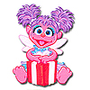 DISCONTINUED ABBY CADABBY SHAPED CANDLE PARTY SUPPLIES