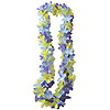 WILD LILY DEW-DROP LEI BL/LAV/YLLW(12/CS PARTY SUPPLIES