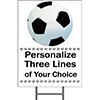 SOCCER YARD SIGN PARTY SUPPLIES