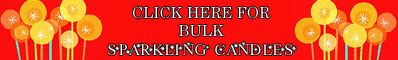 Click Here for Bulk Sparkling Candles Party Supplies