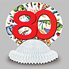 80TH BIRTHDAY EXPLOSION CENTERPIECE PARTY SUPPLIES