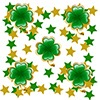 ST PATRICKS DAY SHAMROCK DECO FETTI PARTY SUPPLIES