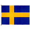 SWEDEN HANDHELD FLAG (4X6 IN.) PARTY SUPPLIES