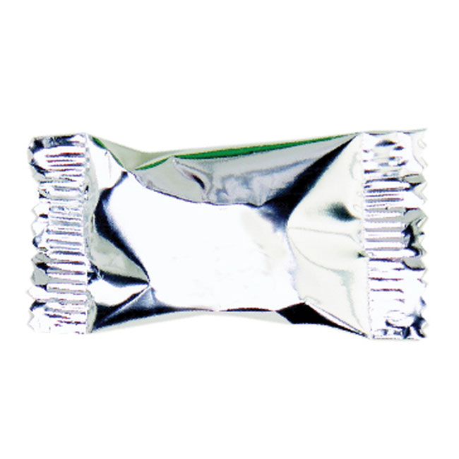 Click for larger picture of METALLIC SILVER BUTTERMINTS PARTY SUPPLIES