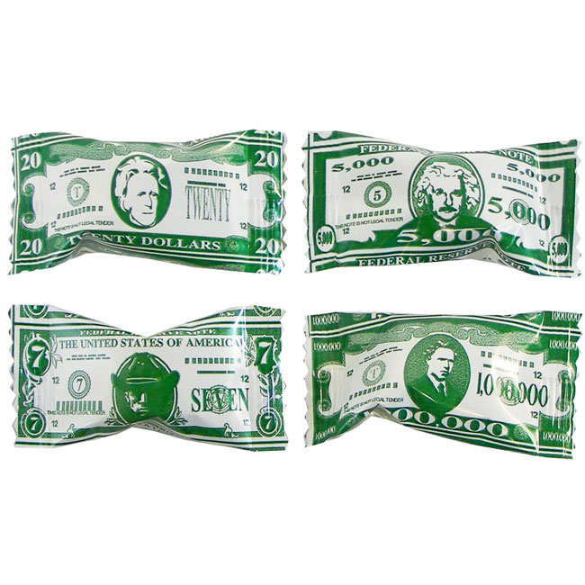 Click for larger picture of MONEY BUTTERMINTS PARTY SUPPLIES
