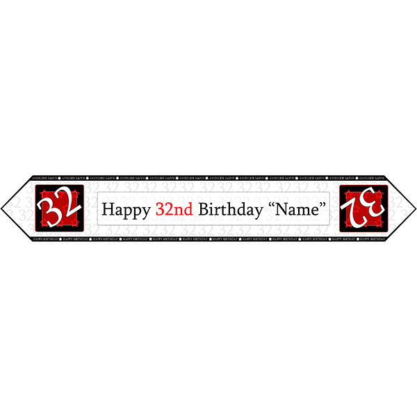 32 Happy Birthday Party Supplies