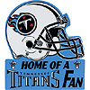 TENNESSEE TITANS LAWN SIGN PARTY SUPPLIES