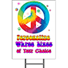 TIE DYE YARD SIGN PARTY SUPPLIES