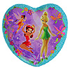 DISNEY'S FAIRIES TINK SOUVENIR SHAPE PLT PARTY SUPPLIES