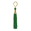 DISCONTINUED GREEN GRAD TASSEL PARTY SUPPLIES