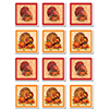 TURKEY COASTERS PARTY SUPPLIES