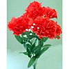 FLORAL SILK CARNATION RED (24/CS) PARTY SUPPLIES