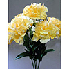 FLORAL SILK CARNATION YELLOW (24/CS) PARTY SUPPLIES