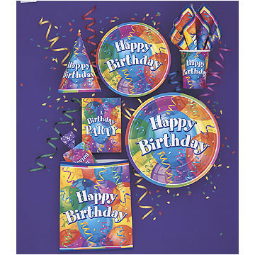 Click for larger picture of BIRTHDAY JUBILEE LUNCH NAPKIN (192/CS) PARTY SUPPLIES