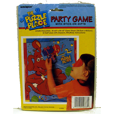 DISCONTINUED PUZZLE PLACE PARTY GAME PARTY SUPPLIES