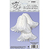 9'' WHITE BELLS HONEYCOMB (36/CS) PARTY SUPPLIES
