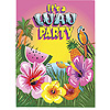 LUAU INVITATIONS (96/CS) PARTY SUPPLIES