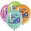 LUAU 12'' BALLOONS PRINTED (96/CS) PARTY SUPPLIES