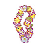 FANCY LILY RAINBOW LEI 40'' (12/CS) PARTY SUPPLIES