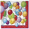 BIRTHDAY BALLOONS LUNCHEON NAPKIN PARTY SUPPLIES