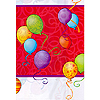 BIRTHDAY BALLOONS TABLECOVER PARTY SUPPLIES