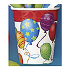 BIRTHDAY BALLOONS HOT/COLD CUP (9OZ) PARTY SUPPLIES