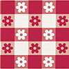DISCONTINUED RED GINGHAM BEVERAGE NAPKIN PARTY SUPPLIES