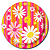 DAISY STRIPES FLORAL PARTY SUPPLIES