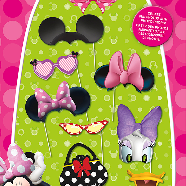 DISCONTINUED MINNIE MOUSE PHOTO PROP PARTY SUPPLIES