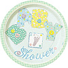 DISCONTINUED BABY STITCH DINNER PLATE PARTY SUPPLIES
