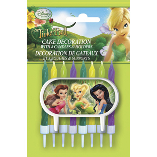 Click for larger picture of DISCONTINUED FAIRIES CAKE DECORATIONS PARTY SUPPLIES