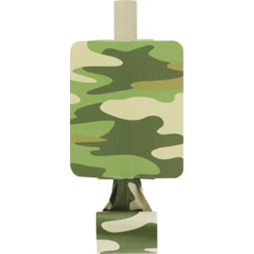 DISCONTINUED CAMO BLOWOUT PARTY SUPPLIES