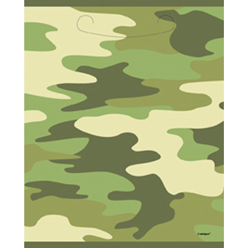 DISCONTINUED CAMO TREAT SACK PARTY SUPPLIES